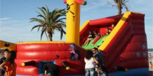 Castillo Rampa Barco Pirata 1 Mástil